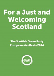 Scottish Greens manifesto 2014